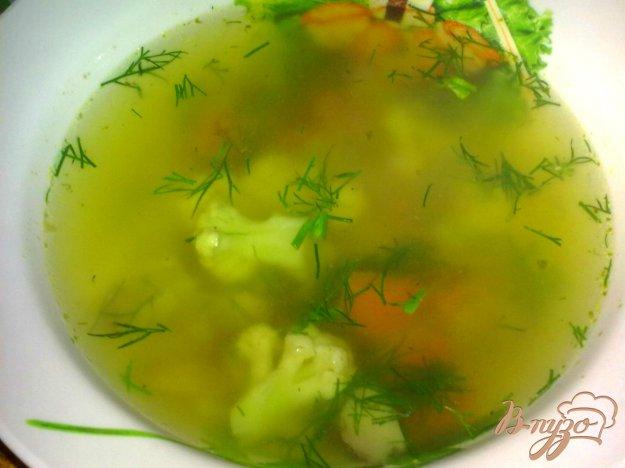 фото рецепта: Куриный суп  с гречкой и грибами