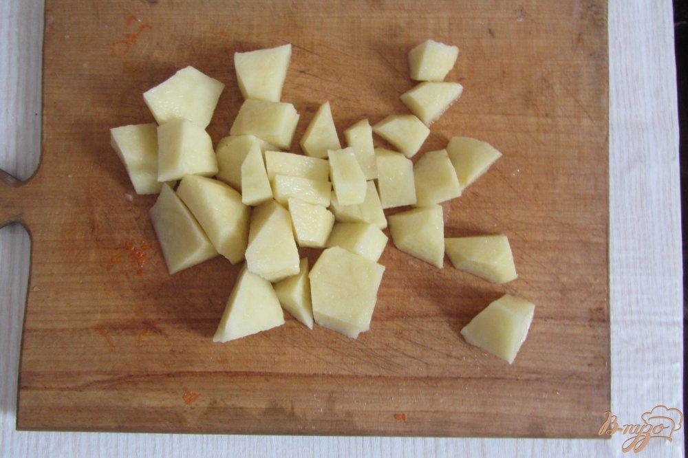 Фото приготовление рецепта: Гороховый суп с опятами. шаг №2