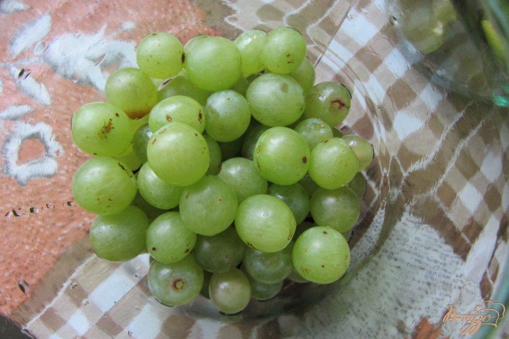 Фото приготовление рецепта: Консервированый виноградный компот шаг №1