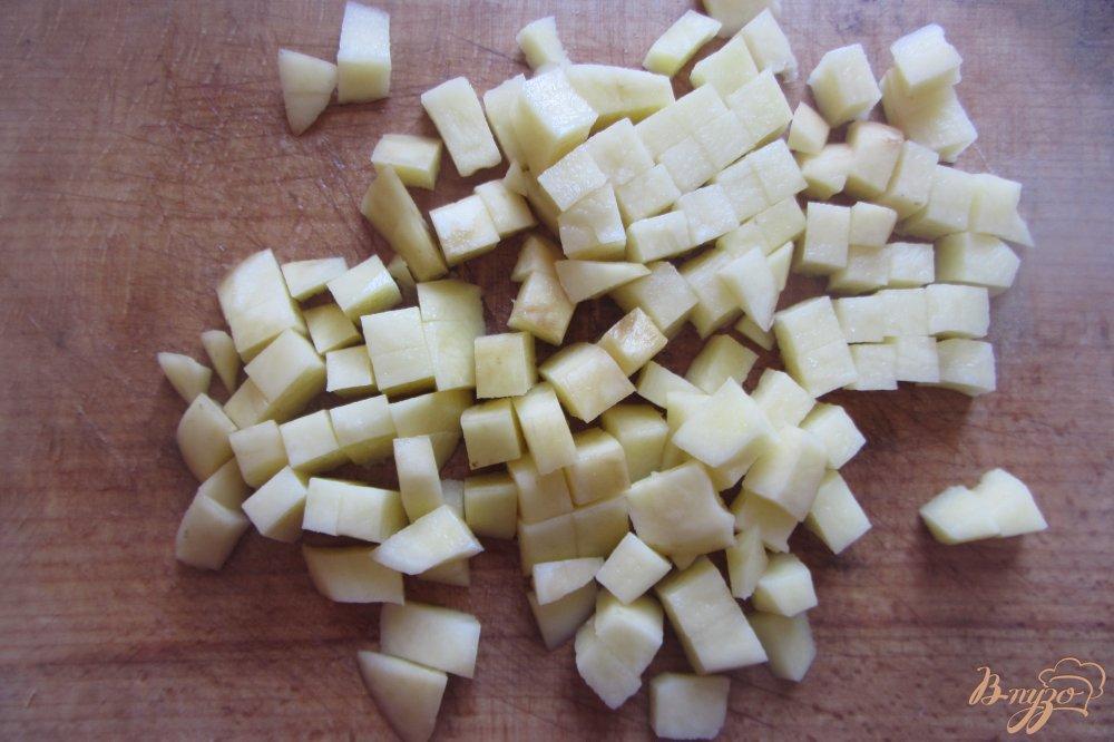 Фото приготовление рецепта: Суп со цветной капустой и индюшкой без зажарки шаг №2