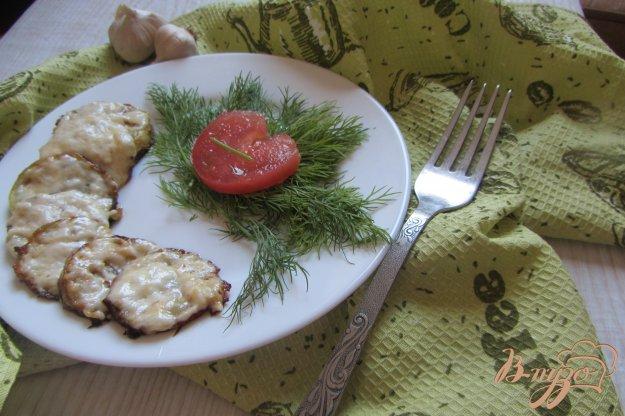 Рецепт Кабачки под сырной шубкой с чесноком