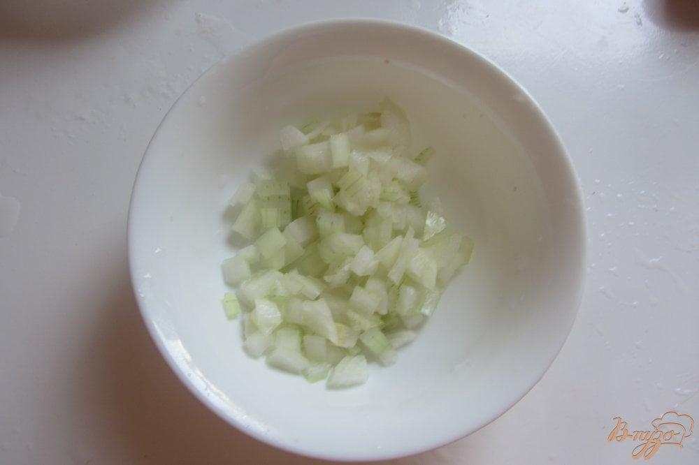 Фото приготовление рецепта: Холодная закуска из баклажанов с помидорами шаг №2
