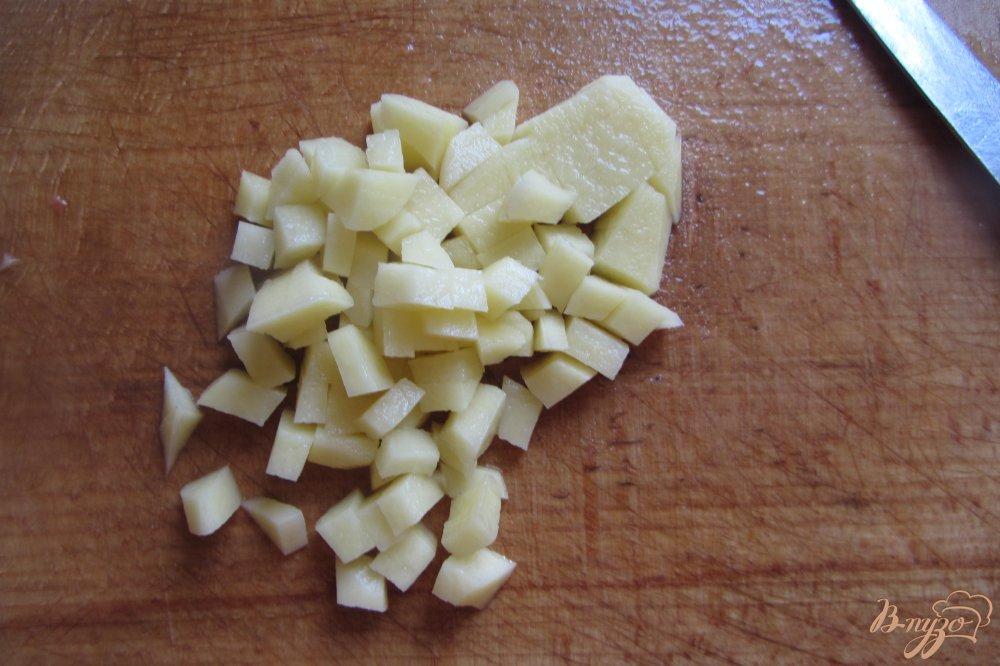 Фото приготовление рецепта: Кабачковый суп на индейки без зажарки шаг №2