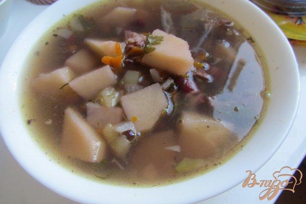 фото рецепта: Суп с красной фасоли без зажарки