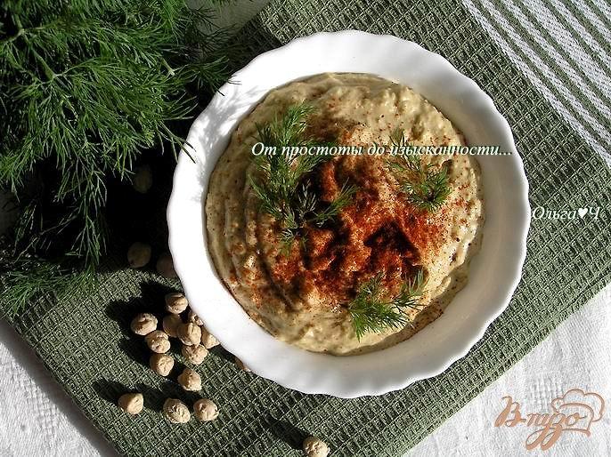 Фото приготовление рецепта: Хумус шаг №4