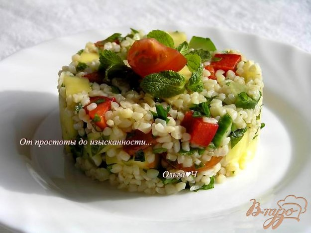 Рецепт Салат Табуле с манго