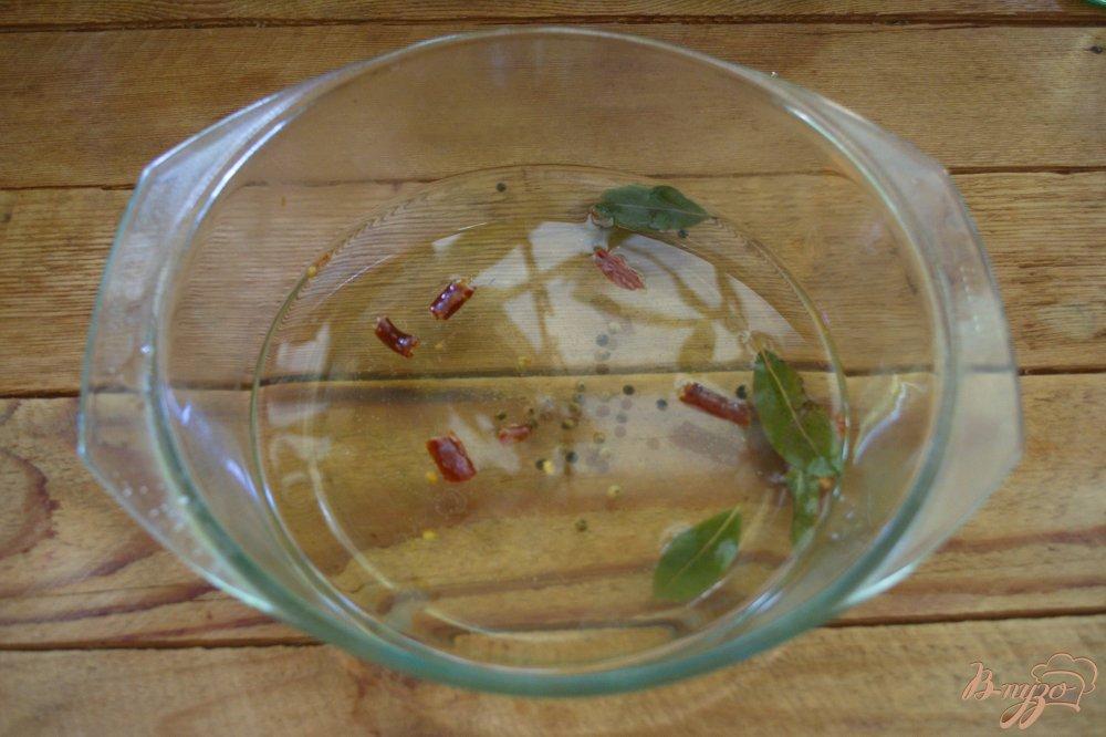 Фото приготовление рецепта: Фаршированные синенькие (баклажаны) шаг №5