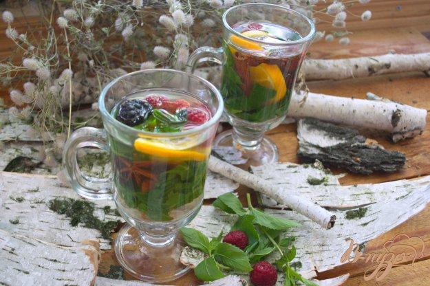 Рецепт Деревенский настой с ягодами