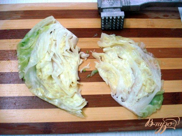 Фото приготовление рецепта: Отбивные из капусты шаг №5