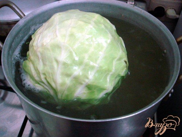 Фото приготовление рецепта: Отбивные из капусты шаг №2