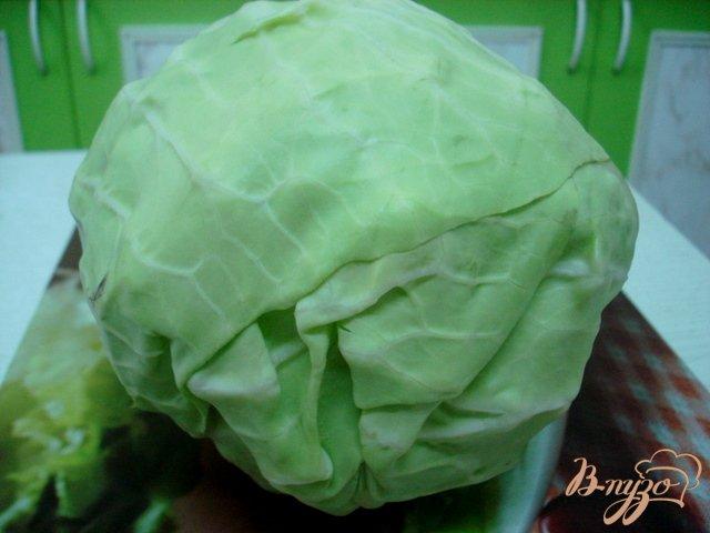 Фото приготовление рецепта: Отбивные из капусты шаг №1