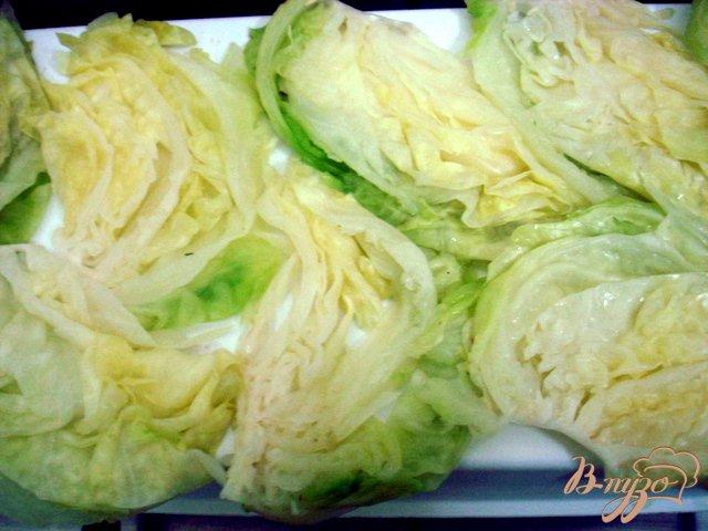 Фото приготовление рецепта: Отбивные из капусты шаг №6