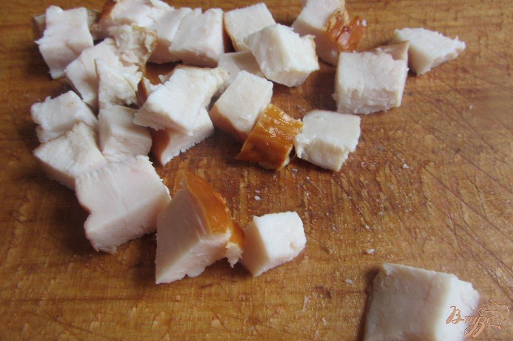 Фото приготовление рецепта: Салат со цветной капустой шаг №1