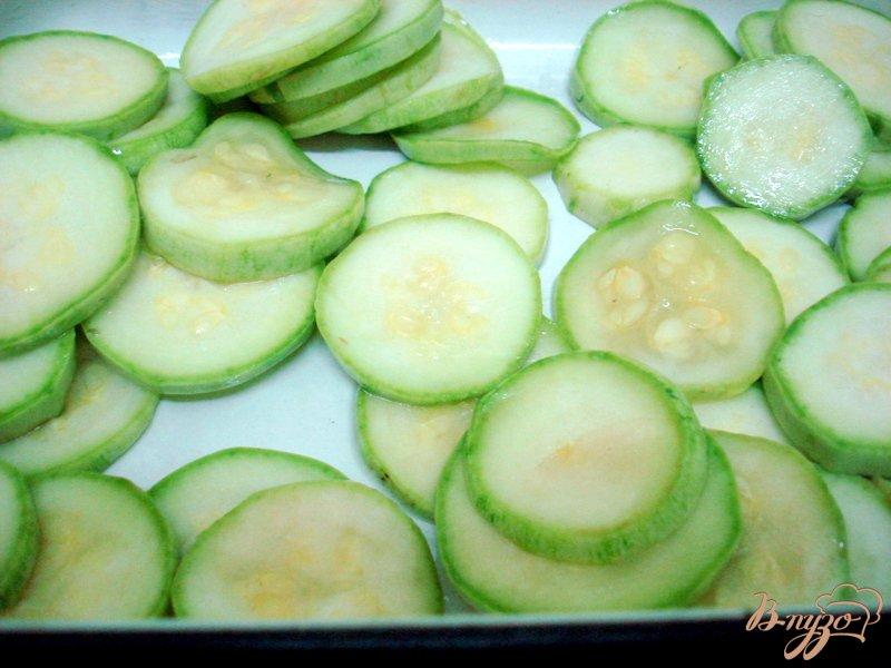 Фото приготовление рецепта: Салат из овощей гриль шаг №3