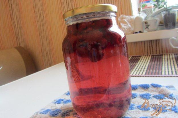 Рецепт Концервированный малиновый напиток на зиму
