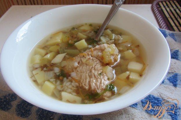 фото рецепта: Гречневый суп на индейки без зажарки