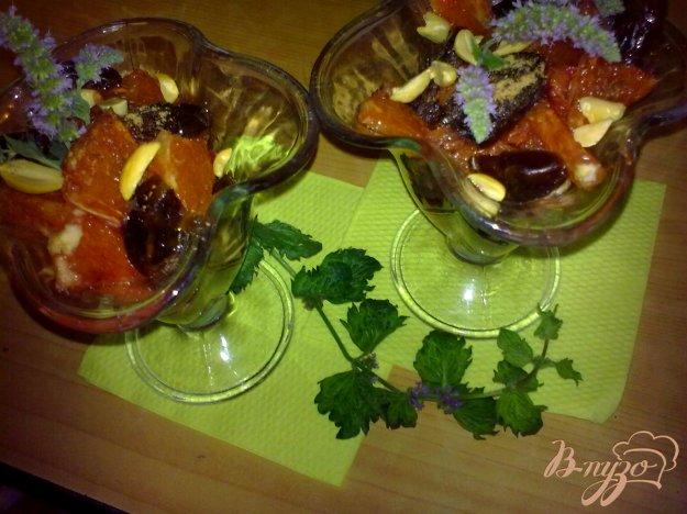 Рецепт Салат из апельсинов по-мароккански