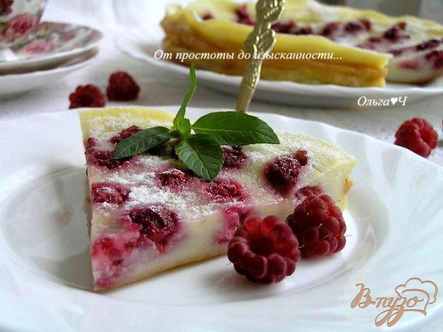 Рецепт Клафути с малиной (в мультиварке)