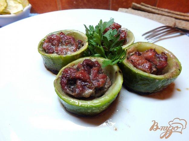 Рецепт Зразы из кабачка мясные