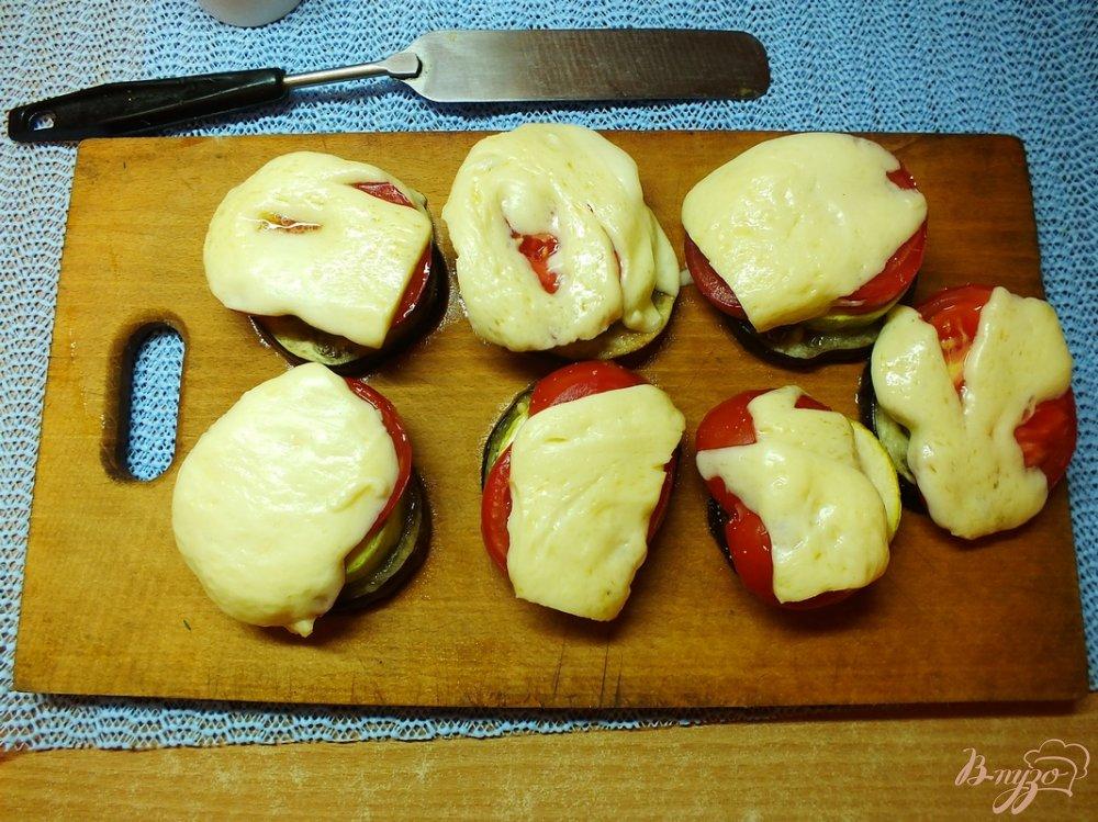 Фото приготовление рецепта: Гарнир тещин язык с сулугуни шаг №8