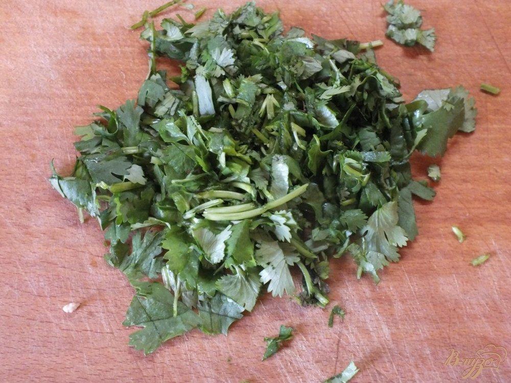Фото приготовление рецепта: Суп диетический со спаржевой фасолью шаг №6