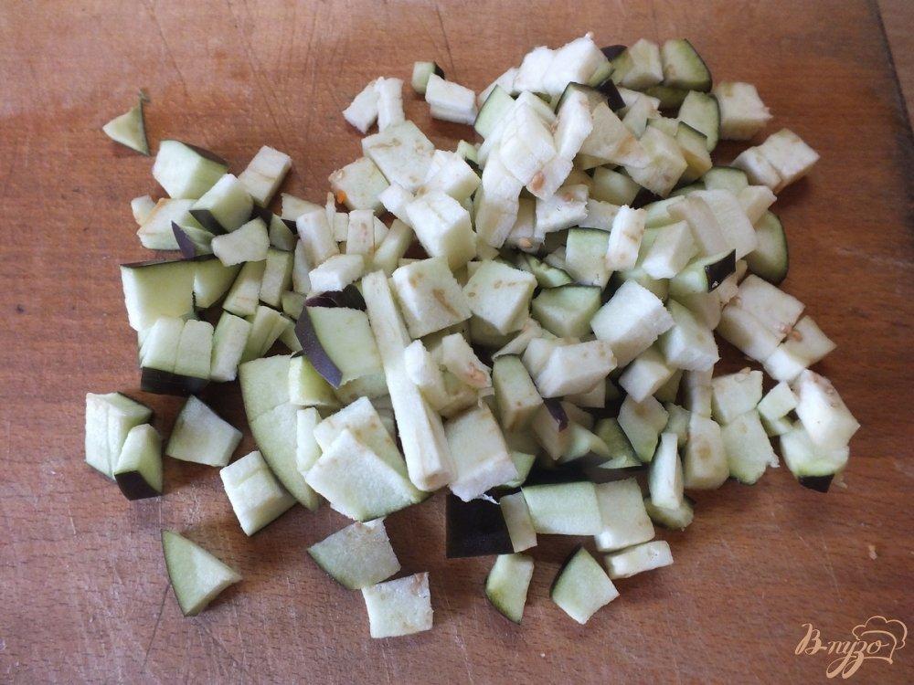 Фото приготовление рецепта: Суп диетический со спаржевой фасолью шаг №4