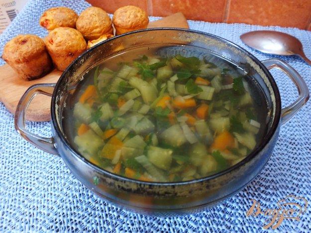 Рецепт Суп диетический со спаржевой фасолью