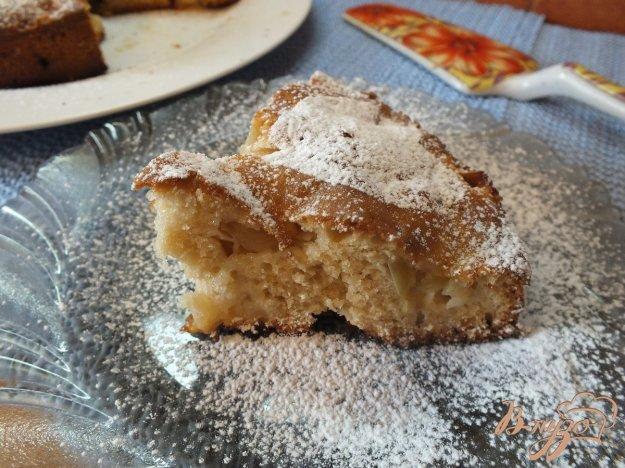 Рецепт Яблочный пирог с добавлением виски