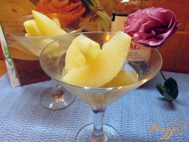 Рецепт Груша маринованная в сахарном сиропе с виски