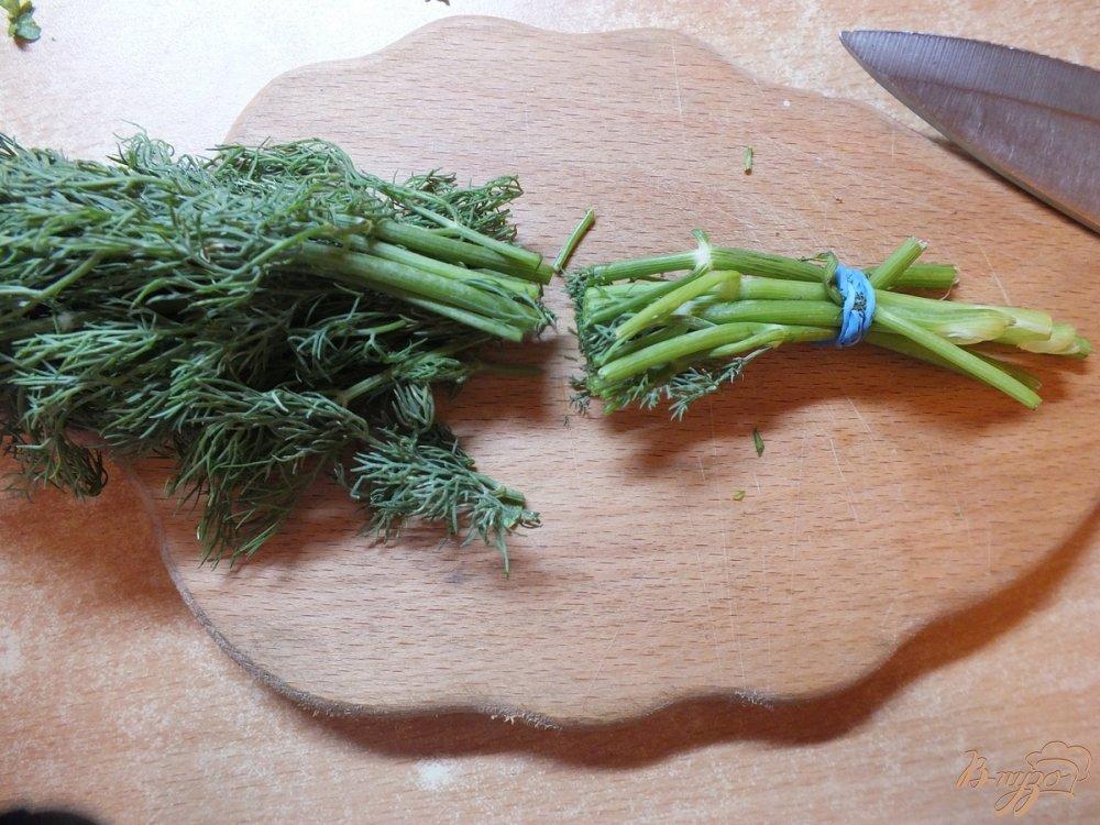 Фото приготовление рецепта: Говядина отварная в крутом бульоне из зелени шаг №3
