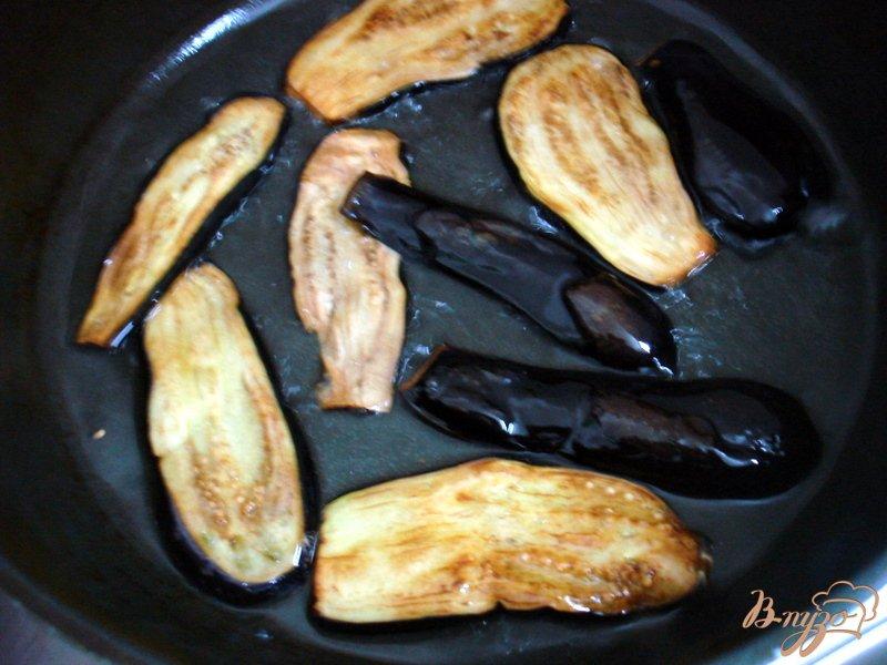 Фото приготовление рецепта: Заготовка перца с баклажанами шаг №5