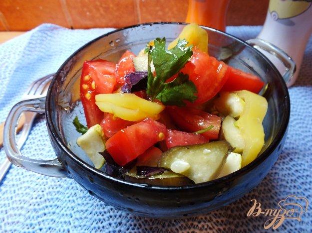 Теплий овочевий салат. Як приготувати з фото