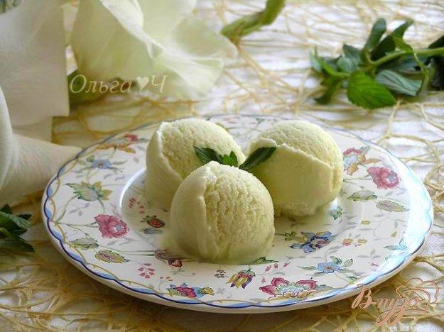 """Рецепт Мороженое """"Мятный виноград"""""""