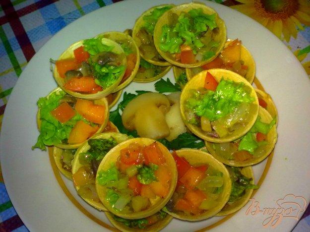 Рецепт Тарталетки с грибами