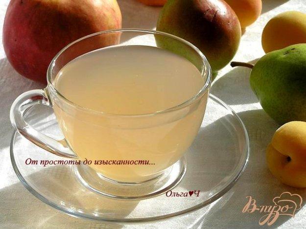 фото рецепта: Яблочно-грушевый кисель