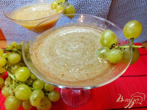 Рецепт Виноградно-сливовый фрэш со сливками