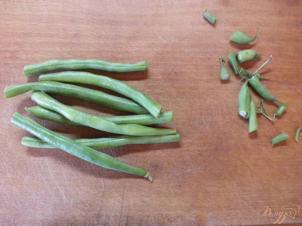 Фото приготовление рецепта: Консервированная спаржевая фасоль в кисло-сладком маринаде шаг №1