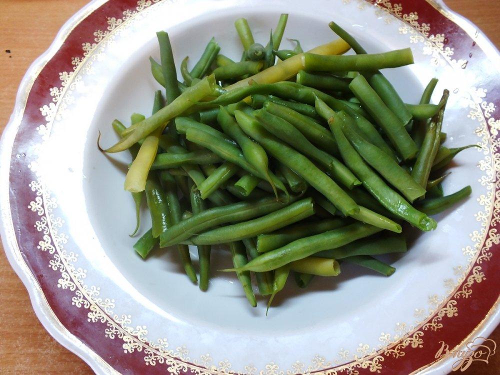 Фото приготовление рецепта: Консервированная спаржевая фасоль в кисло-сладком маринаде шаг №6