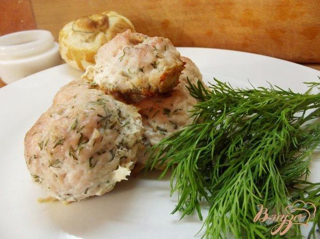 Рецепт Ароматные куриные котлеты с укропом в духовке