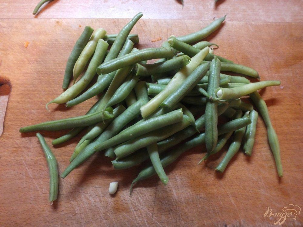 Фото приготовление рецепта: Лобио из фасоли на растительном масле шаг №5