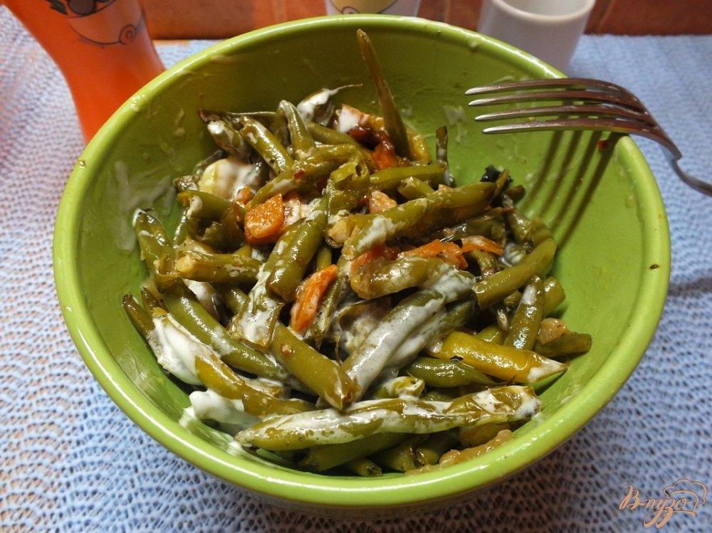 Фото приготовление рецепта: Лобио из фасоли на растительном масле шаг №7
