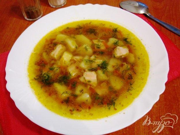 Рецепт Гречневый суп с мясом