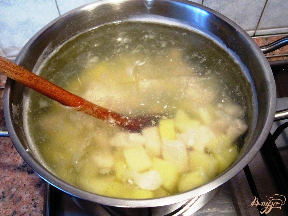 Фото приготовление рецепта: Гречневый суп с мясом шаг №10