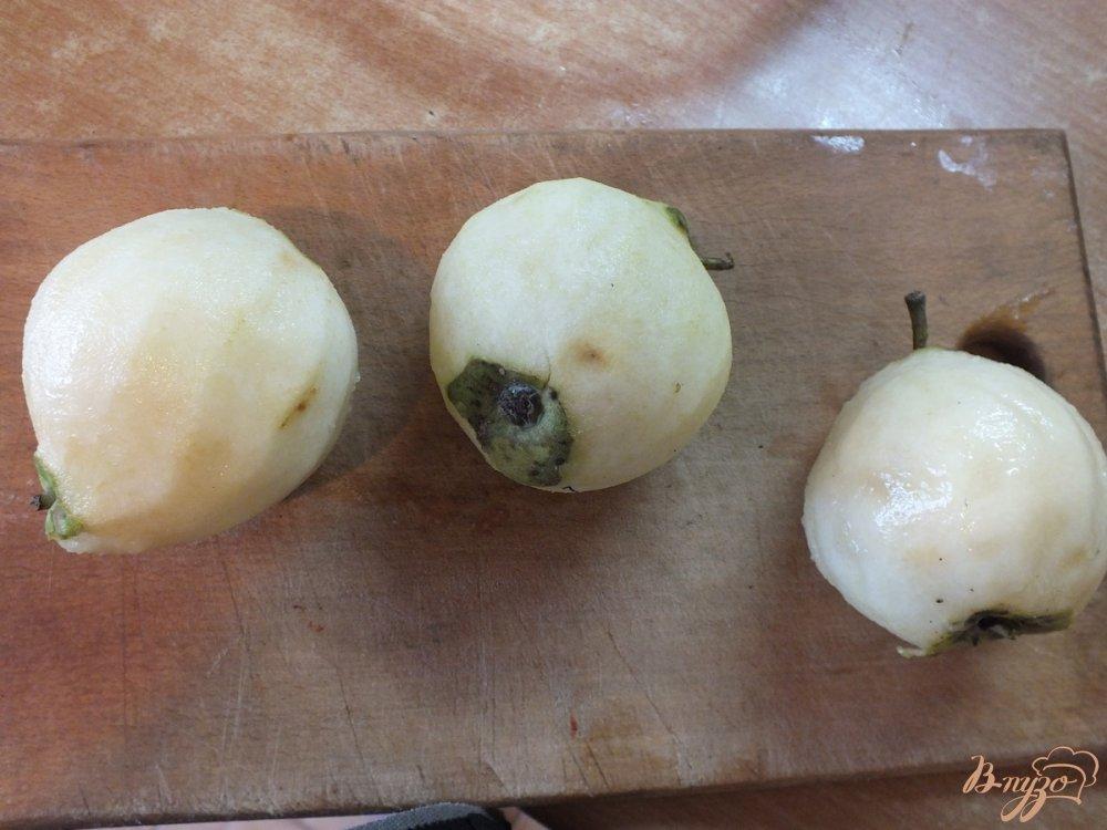 Фото приготовление рецепта: Консервированная груша  со специями в собственном соку шаг №1