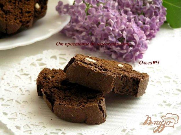 Рецепт Шоколадные бискотти с Бэйлис