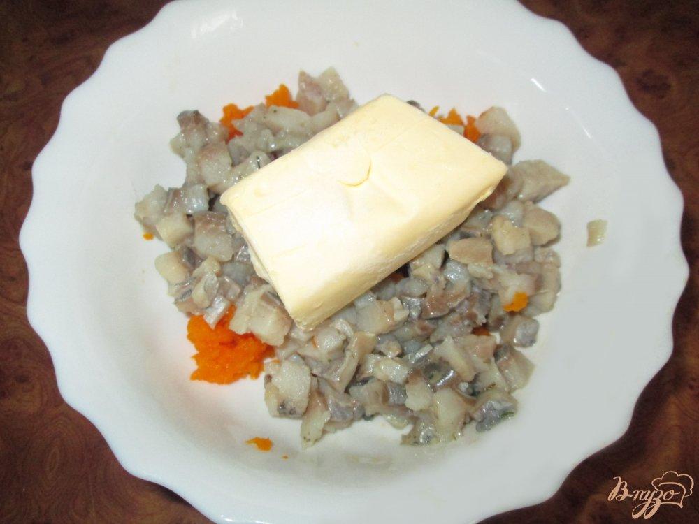 Фото приготовление рецепта: Канапе со вкусом икры шаг №3