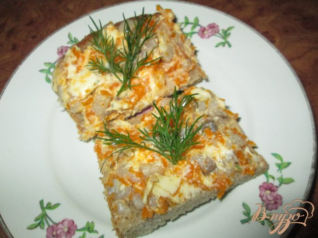 Рецепт Канапе со вкусом икры