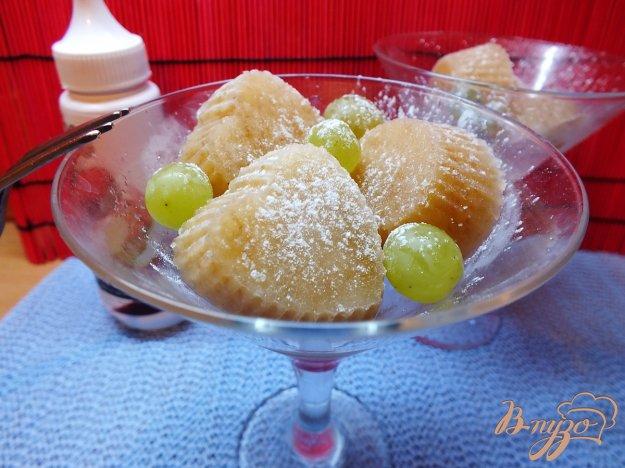 Рецепт Белый щербет трио: груша, яблоко, виноград