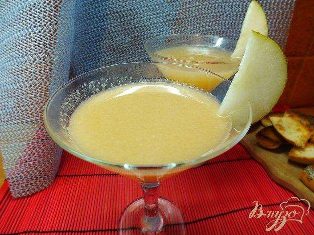 Рецепт Грейпфрутовый фрэш с грушей и яблоком