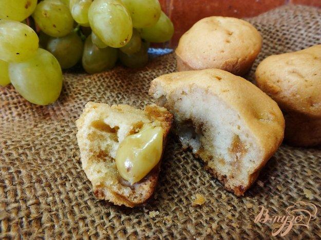 Рецепт Кексы с белым виноградом